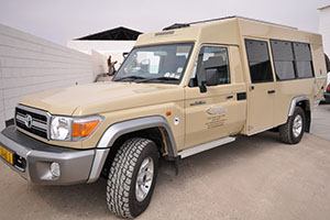 Toyota Land Cruiser with 7 seats
