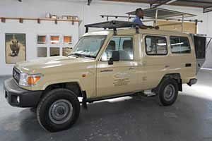 Toyota Land Cruiser Conversion with pop up