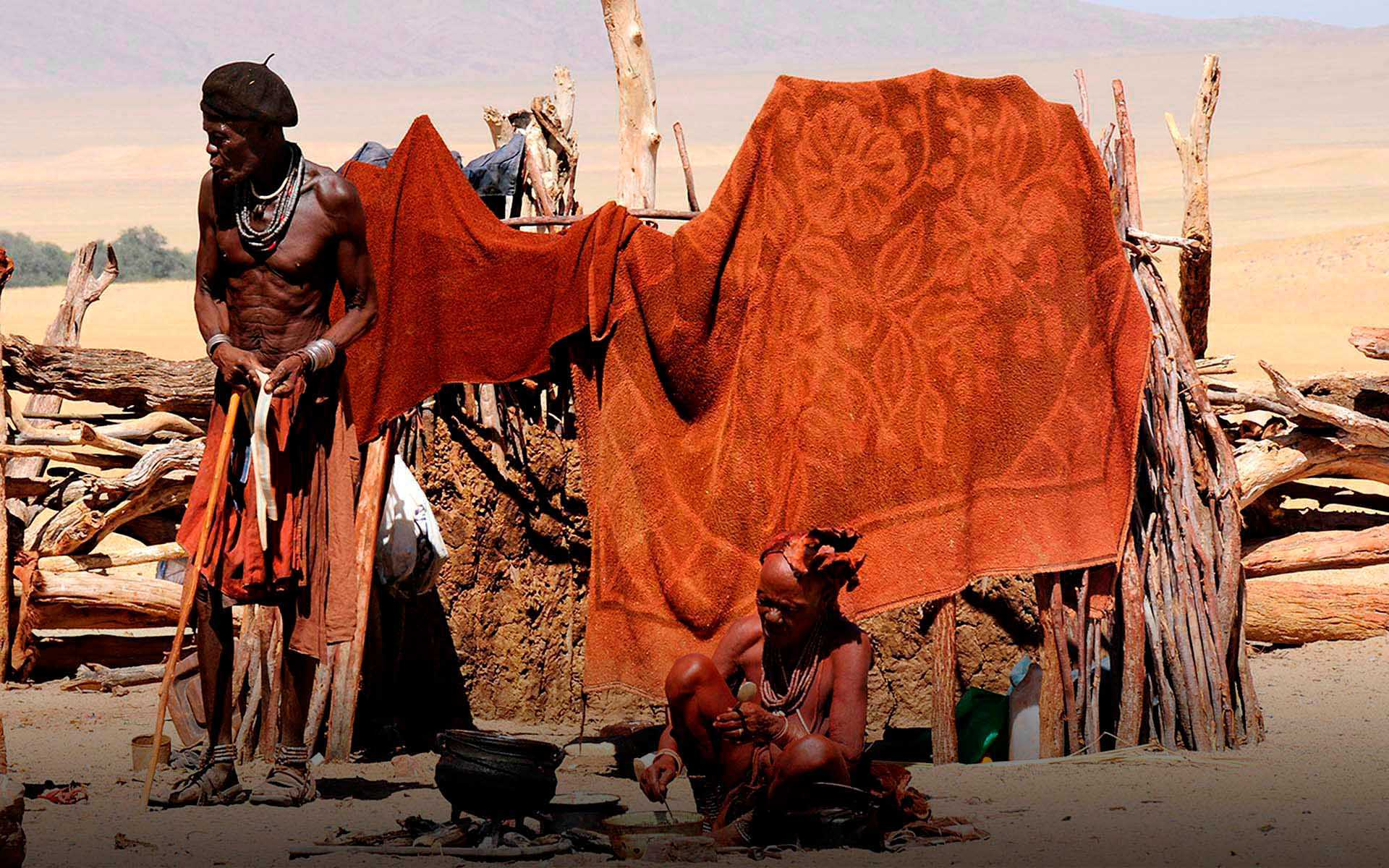 Himba in the Kaokoveld